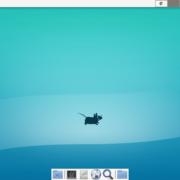 Xfceのデスクトップ